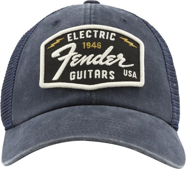 Fender - Raglan Bones Fender Electric Hat, Navy