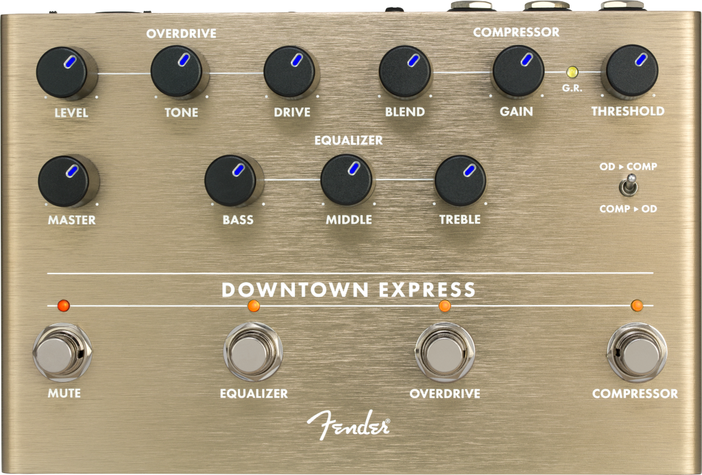Fender - Downtown Express Bass Multi Effect Pedal