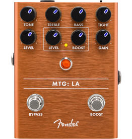 Fender - MTG: LA Tube Distortion Pedal w/Boost