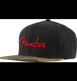 Fender - Camo Flatbill Hat, Camo