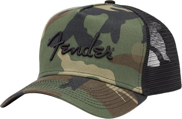Fender - Camo Snapback Hat