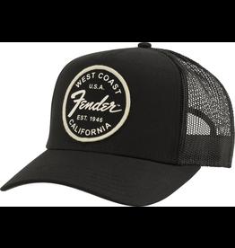 Fender - West Coast Trucker Hat, Black