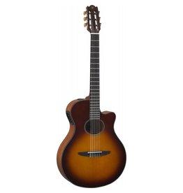 Yamaha - NTX1 Nylon String Acoustic-Electric, Brown Sunburst