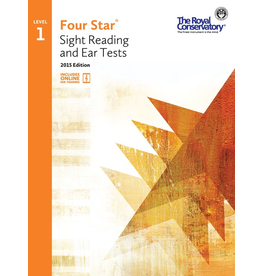 Frederick Harris - RCM Four Star, Sight Reading and Ear Tests, Level 1