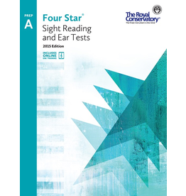 Frederick Harris - RCM Four Star, Sight Reading and Ear Tests, Preparatory A