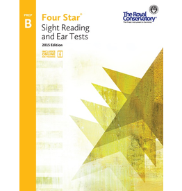 Frederick Harris - RCM Four Star, Sight Reading and Ear Tests, Preparatory B