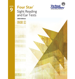 Frederick Harris - RCM Four Star, Sight Reading and Ear Tests, Level 9