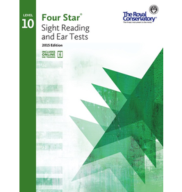 Frederick Harris - RCM Four Star, Sight Reading and Ear Tests, Level 10