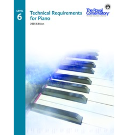 Frederick Harris - RCM Technical Requirements for Piano, Level 6