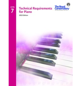 Frederick Harris - RCM Technical Requirements for Piano, Level 7