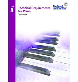 Frederick Harris - RCM Technical Requirements for Piano, Level 8