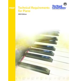 Frederick Harris - RCM Technical Requirements for Piano, Preparatory Level