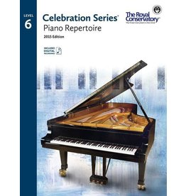 Frederick Harris - RCM Celebration Series, 2015 Edition, Piano Repertoire 6 w/ Online Audio
