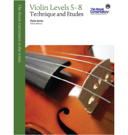 Frederick Harris - RCM Violin Series, 2013 edition, Violin Technique and Etudes 5 - 8