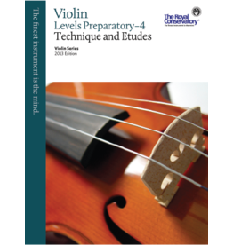 Frederick Harris - RCM Violin Series, 2013 edition, Violin Technique and Etudes Prep - 4