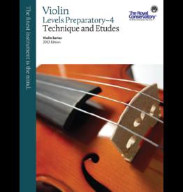 Frederick Harris - RCM Violin Series, 2013 edition, Violin Technique and Etudes Prep - 4