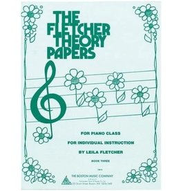 The Boston Music Company - The Fletcher Theory Papers - Book 3