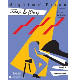 Hal Leonard - Faber BigTime Piano, Level 4, Jazz & Blues