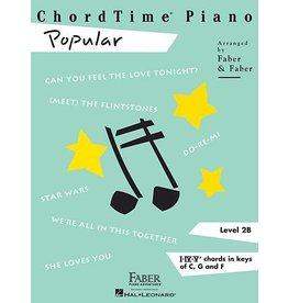 Hal Leonard - Faber ChordTime Piano, Level 2B, Popular
