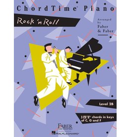 Hal Leonard - Faber ChordTime Piano, Level 2B, Rock 'n' Roll