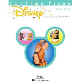 Hal Leonard - Faber FunTime Piano Level 3A-3B, Disney