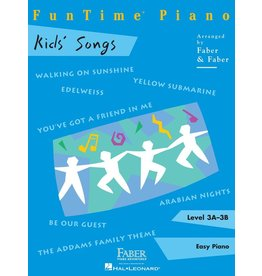 Hal Leonard - Faber FunTime Piano, Level 3A-3B, Kids' Songs