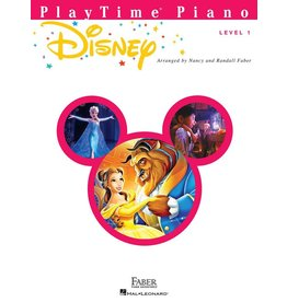 Hal Leonard - Faber PlayTime Piano, Level 1, Disney