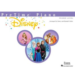 Hal Leonard - Faber PreTime Piano, Primer Level, Disney