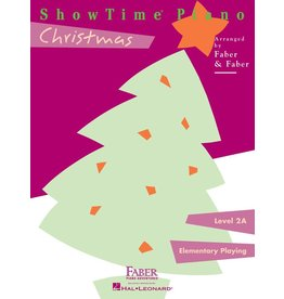 Hal Leonard - Faber ShowTime Piano, Level 2A, Christmas