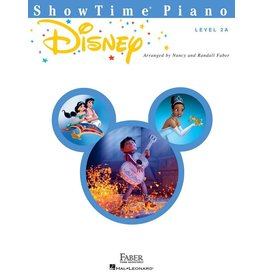 Hal Leonard - Faber ShowTime Piano, Level 2A, Disney