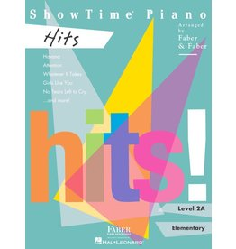 Hal Leonard - Faber ShowTime Piano, Level 2A, Hits
