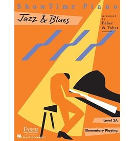Hal Leonard - Faber ShowTime Piano, Level 2A, Jazz & Blues
