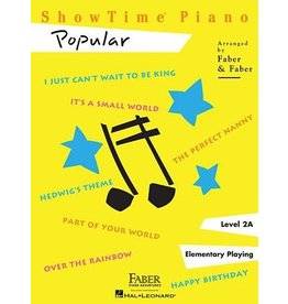 Hal Leonard - Faber ShowTime Piano, Level 2A, Popular