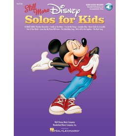 Hal Leonard - Still More Disney Solos for Kids, (V/P) Online Audio Access of Performances by Kids and Accompaniments