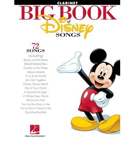 Hal Leonard - The Big Book of Disney Songs, Clarinet