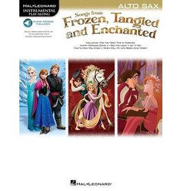 Hal Leonard - Songs from Frozen, Tangled & Enchanted, w/Audio Online, Alto Sax
