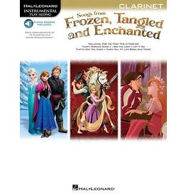 Hal Leonard - Songs from Frozen, Tangled & Enchanted, w/Audio Online, Clarinet
