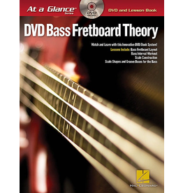 Hal Leonard - At a Glance Bass Series, Book/DVD Pack, Bass Fretboard Theory