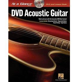 Hal Leonard - At a Glance Guitar Series, Book/DVD Pack, Acoustic Guitar