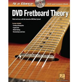 Hal Leonard - At a Glance Guitar Series, Book/DVD Pack, Fretboard Theory