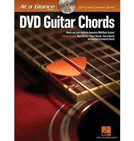Hal Leonard - At a Glance Guitar Series, Book/DVD Pack, Guitar Chords