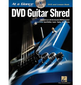 Hal Leonard - At a Glance Guitar Series, Book/DVD Pack, Guitar Shred