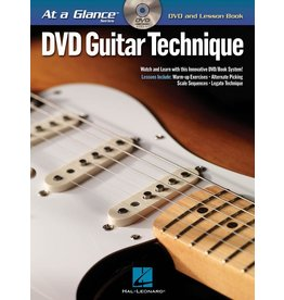 Hal Leonard - At a Glance Guitar Series, Book/DVD Pack, Guitar Technique