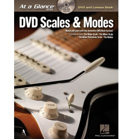 Hal Leonard - At a Glance Guitar Series, Book/DVD Pack, Scales & Modes