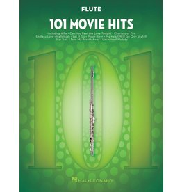 Hal Leonard - 101 Movie Hits, Flute
