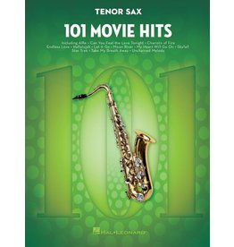 Hal Leonard - 101 Movie Hits, Tenor Sax