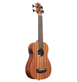 Kala - Wanderer U-Bass Mahogany Acoustic/Electric Ukulele Bass, w/Pickup