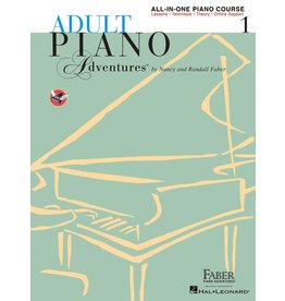 Hal Leonard - Adult Piano Adventures All-In-One Lesson Book 1