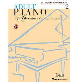 Hal Leonard - Adult Piano Adventures All-In-One Lesson Book 2
