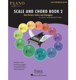 Hal Leonard - Piano Adventures Scale & Chord Book 2
